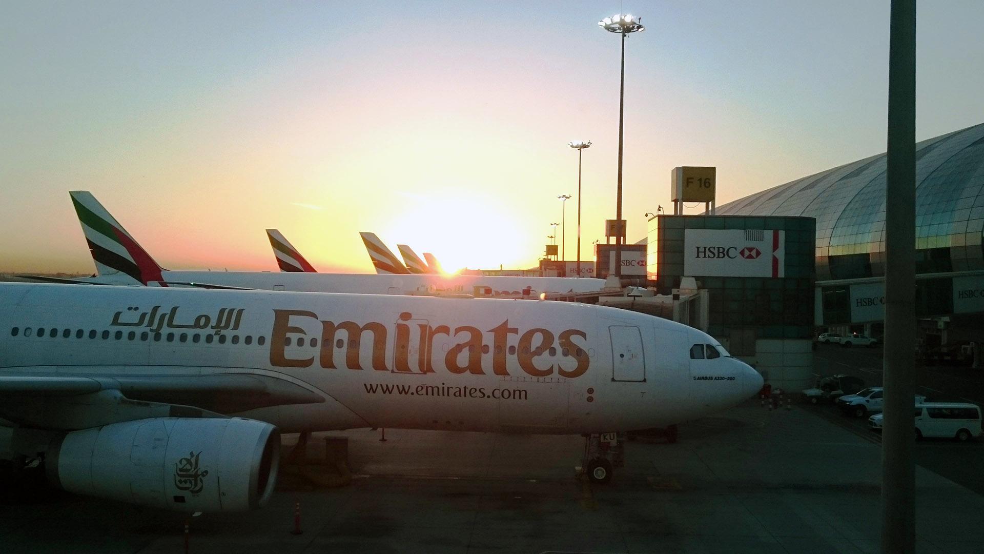 Anreise, Sri Lanka, Kalpitiya, Dubai, Zwischenstop